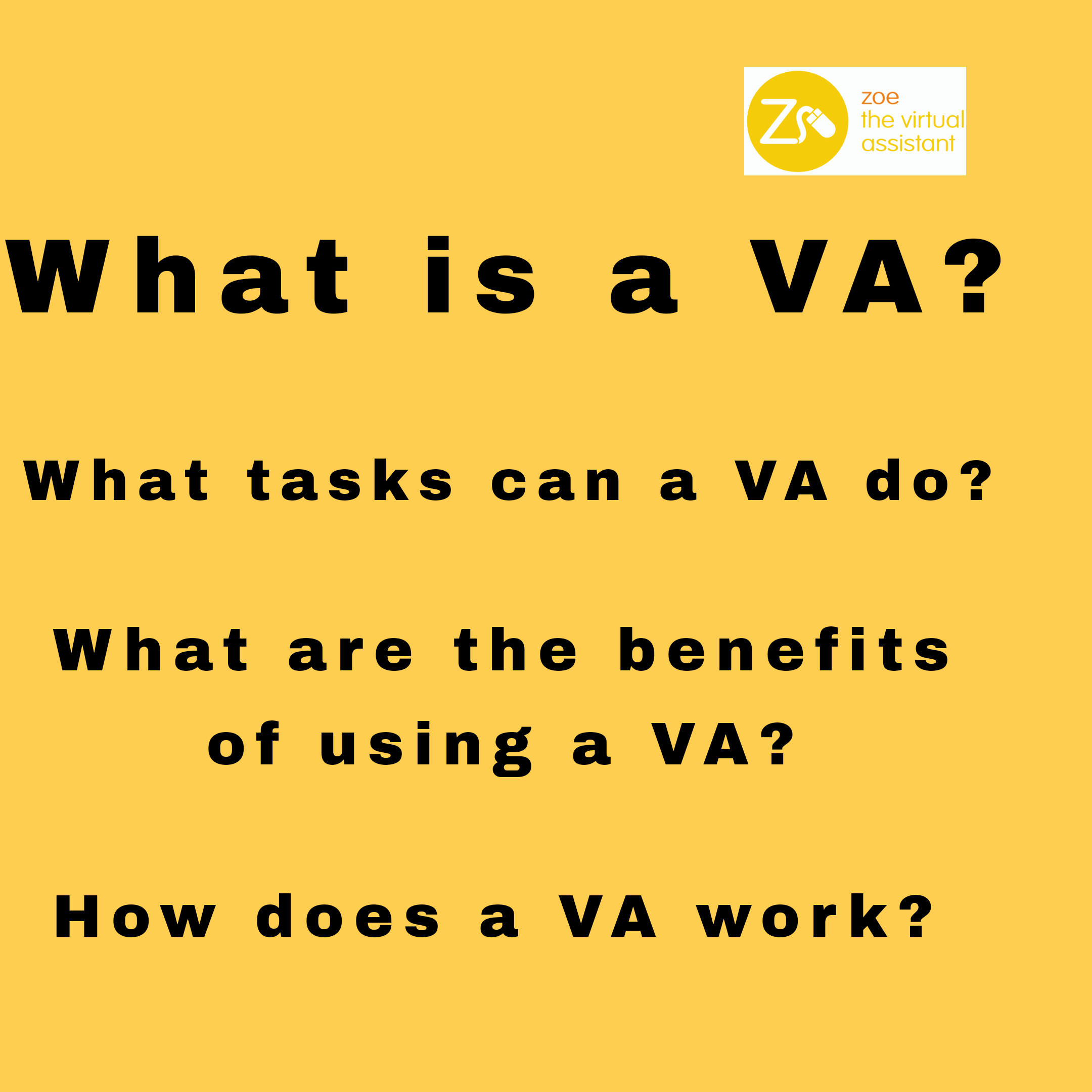 Image of text what is a VA?