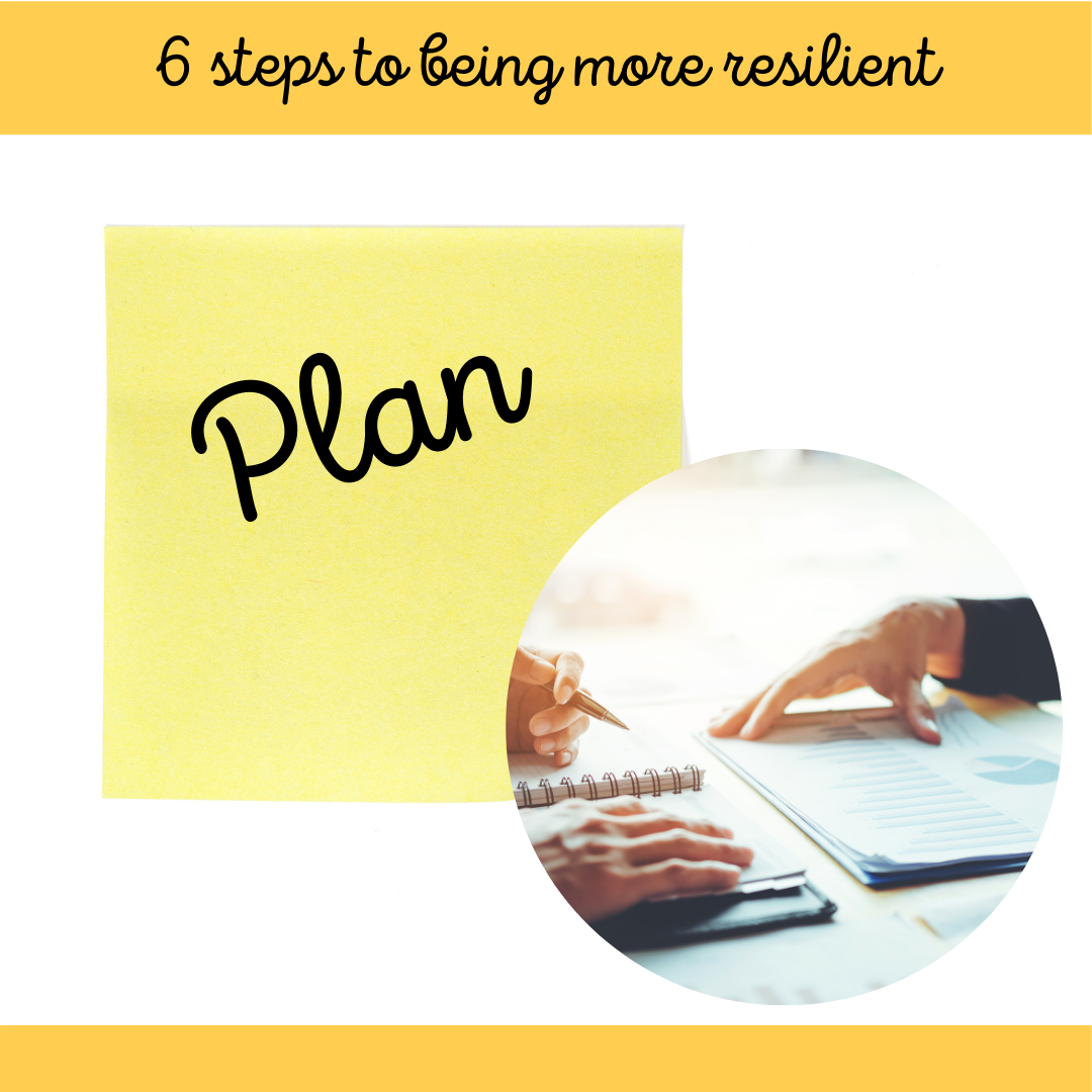 1 of 6 Steps to Being More Resilient March Blog