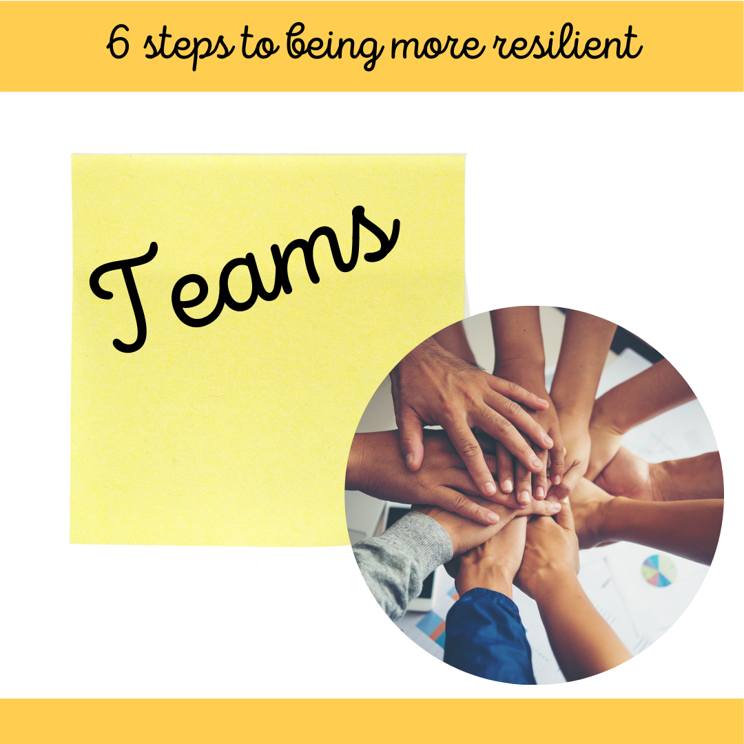 4 of 6 Steps to Being More Resilient March Blog