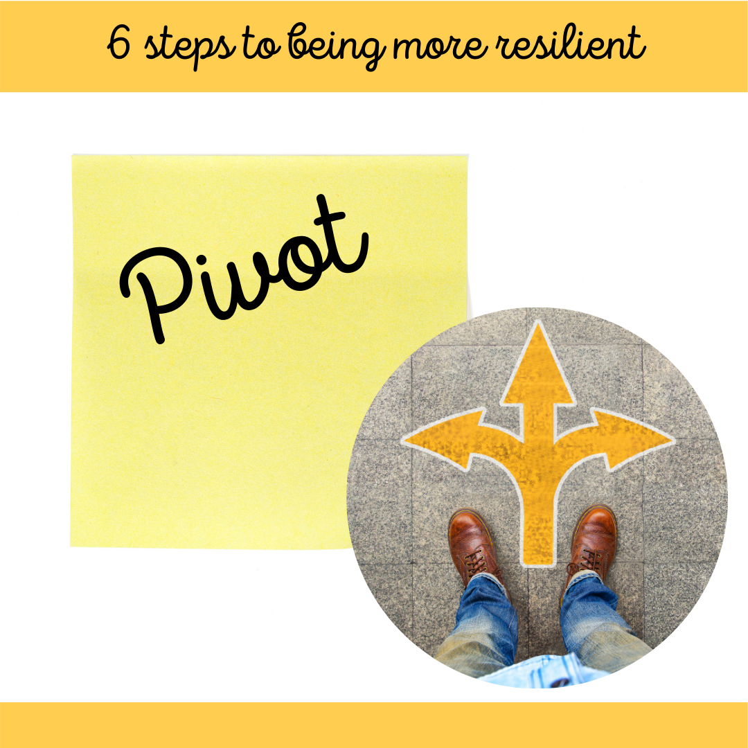 6 of 6 Steps to Being More Resilient March Blog